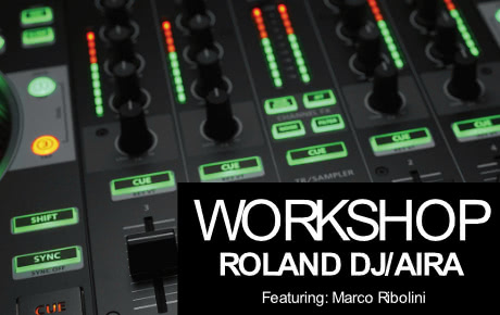 Workshop Roland DJ / Aira