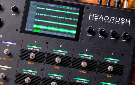 Headrush Looperboard Demo Tour