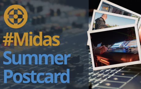 Midas Summer Postcard