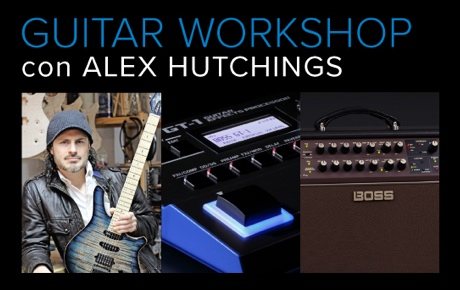Alex Hutchings' Guitar Workshop by Roland