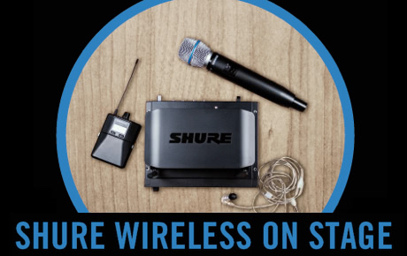 Shure Wireless On Stage