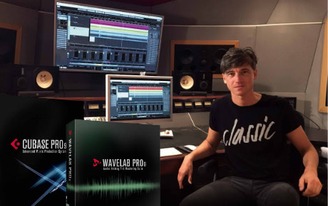 Produce mix and mastering with Cubase Pro 9 / WaveLab Pro 9